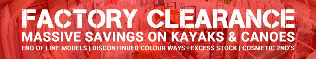 Factory Clearance Offers On Kayaks And Canoes At Southampton Canoes