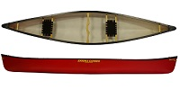 Enigma Nimrod 15 Open Tandem Canadian Canoe Perfect for entry level river paddling