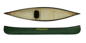 Enigma RTI 13 lightweight solo open canadian canoe perfect for touring and mild whitewater