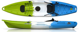 feelfree juntos sit on top kayak
