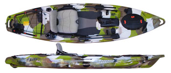 Lure 11.5 angling kayak from Feelfree
