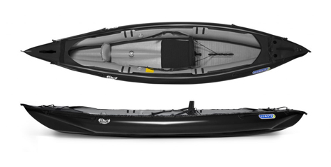 Gumotex Rush 1 solo inflatable kayak with drop stitch technology