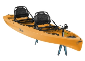 Hobie Kayaks Compass Duo Tandem Pedal Drive Sit On Top Kayak