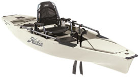 pro angler 14 mirage drive kayak from hobie