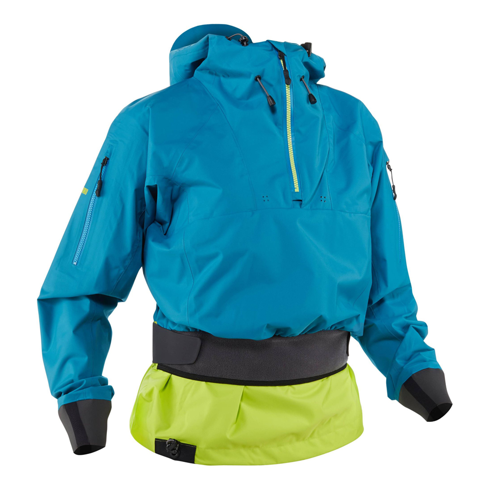 nrs womens riptide womens Semi Dry Whitewater Cag in fjord