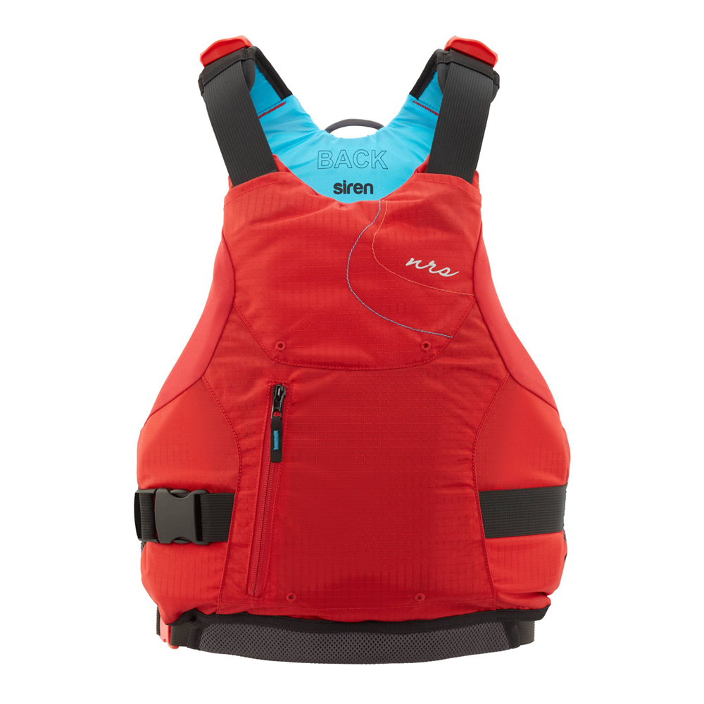 nrs siren Womens Specific Buoyancy Aid in red Perfect for general purpose women Paddlers