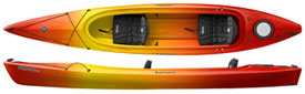 prodigy II from perception kayaks
