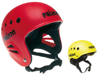 Full & half cut Prijon Surf Helmets