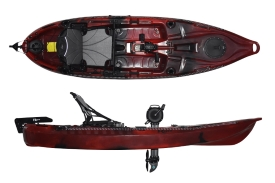 Riot Kayaks Mako 10 a short feature packed pedal drive sit on top kayak