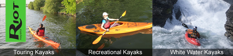 Riot kayaks for sale in the UK at Southampton Canoes, Hampshire