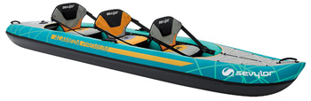 Sevylor Alameda 3 seater inflatable canoe