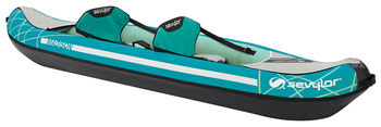 Sevylor Madison 2 seater inflatable canoe