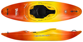 wavesport d series kayaks