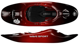 Wavesport Fuse 48, 56 & 64 - Black Out Spec