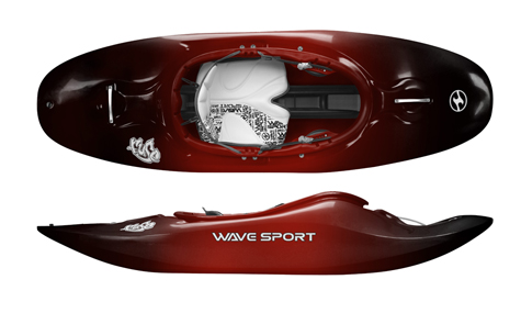 Wavesport Fuse 56 BlackOut - Cherry Bomb