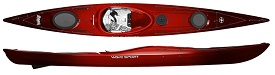 Wave Sport Hydra Touring and Sea Kayak Packed With Features in Cherry Bomb Colour