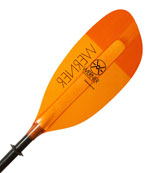 werner corryvwrecken kayak paddle with mid size blades
