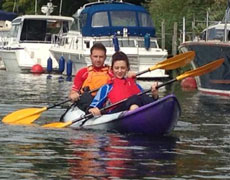 double and tandem sit on top kayaks