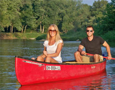 canoes for recreational and family paddling