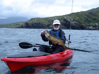 Kayak fishing equipment for sale from Southampton canoes