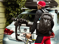 Thule rear mounted bike carriers