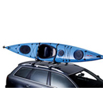 Kayak roof carriers