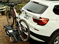 Thule tow bar bike racks