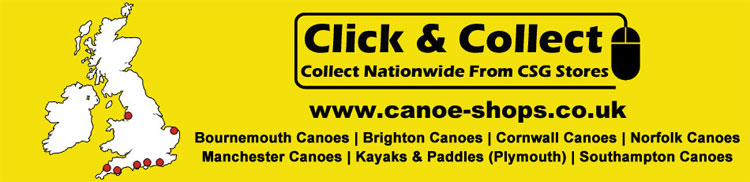 Click and collect kayaks at Southampton Canoes