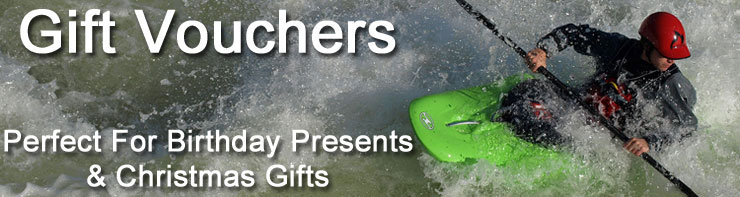 Gift vouchers at Southampton Canoes