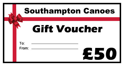 Kayak gift voucher