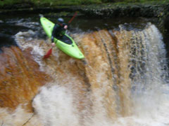 Southampton Canoes Darren White water kayaking