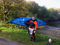 Southampton Canoes Jono with his Liquidlogic Braaap